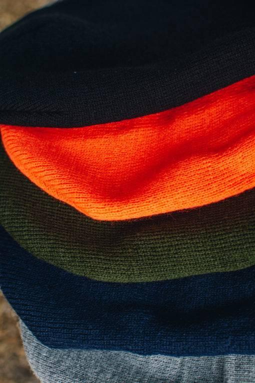 Assorted Color Cuffed Beanie Cap