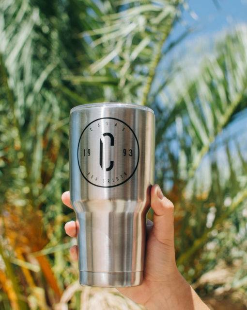 The C 30oz Stainless Steel Tumbler