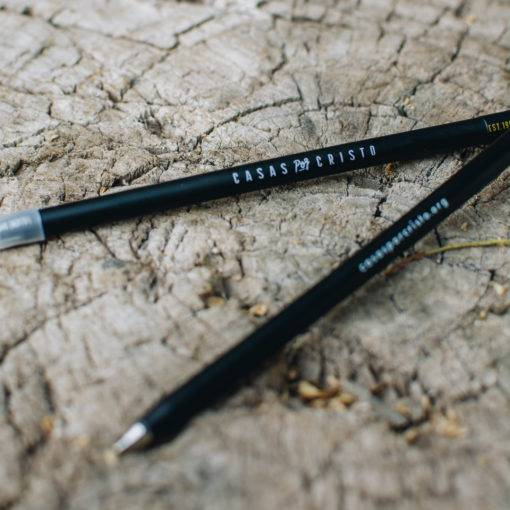 Casas por Cristo plastic nail pen