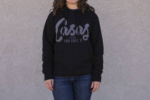 Black Classic Pullover Hoodie