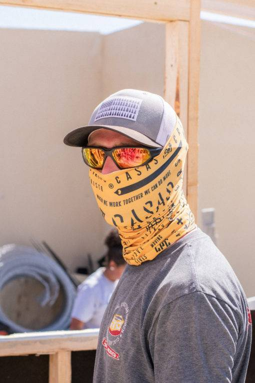Casas Buff in Action on the build site
