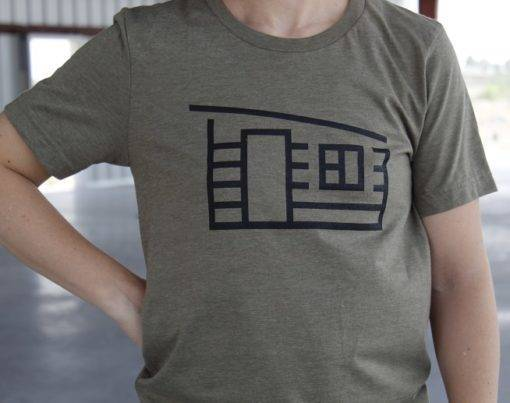 green house tee front