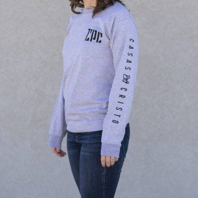 Heather Gray Long Sleeve CPC T-shirt