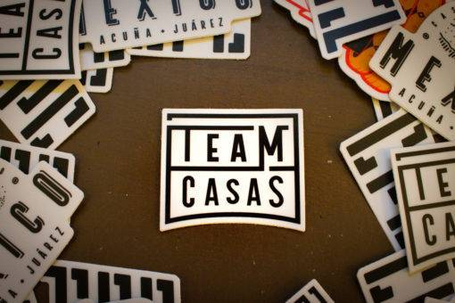 Team Casas Sticker