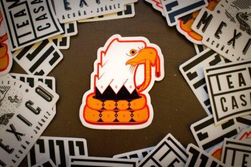 Eagle Outline Sticker