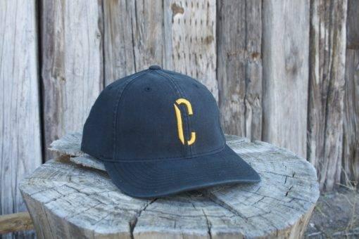 yellow c hat