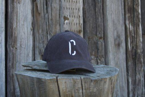 white c hat front