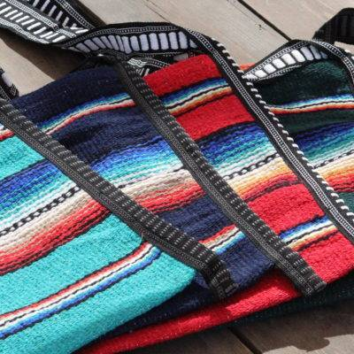 Colorful Mexican Style Falsa Blanket Tote Bag Messenger