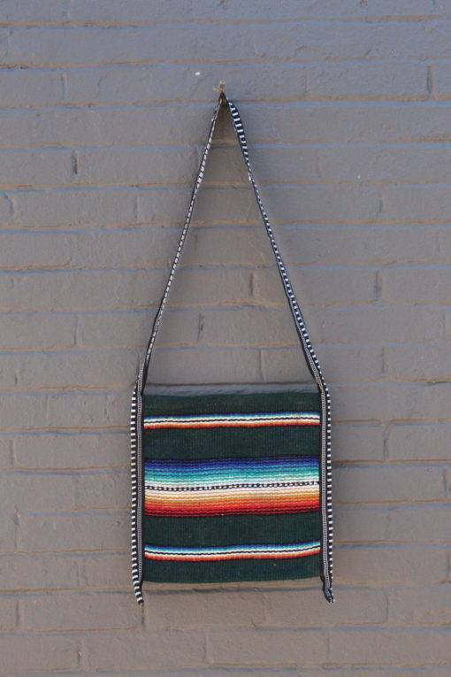 Authentic Green Falsa Crossbody Mexican Bag