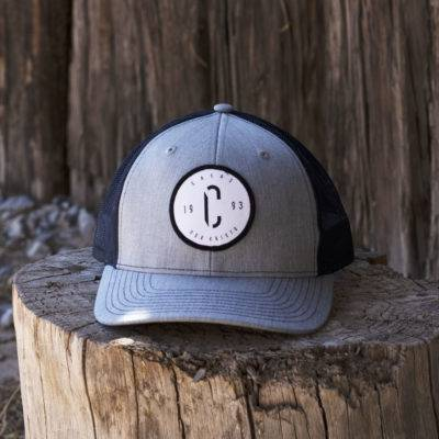 Richardson Snapback Trucker Hat Featuring the C