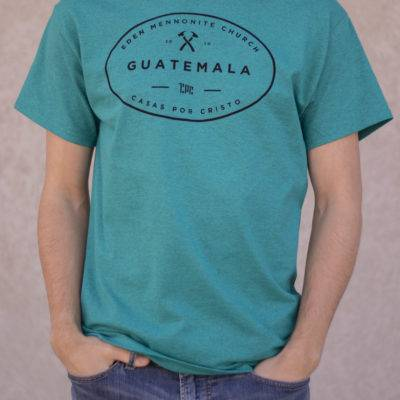 Custom Printed Team Shirt Scuba Blue