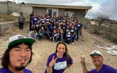How does an internation mission trip = a local mission trip?